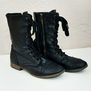 Shoes - Lace Up Combat Boots from Target